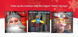 image of POSSIBLE Wins 2013 Best Consumer Goods Mobile Application Internet Advertising Award for Folgers Wakin Up App