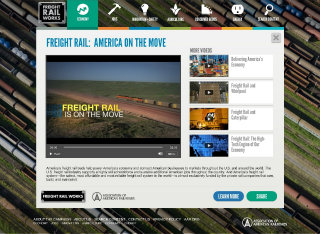 image of Home Front Communications Wins 2012 Best Associations Online Video Internet Advertising Award for FRW: America on the Move